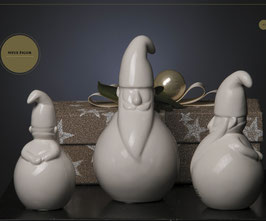 Tiziano Santa Lucio dick 9,5 cm creme