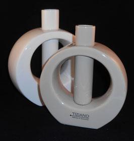 Vase Vietto 19cm/ 21cm loreen Tiziano  ANGEBOT