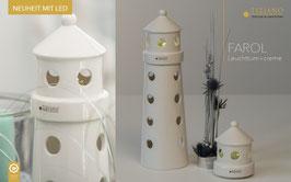 Tiziano Leuchtturm Farol LED creme