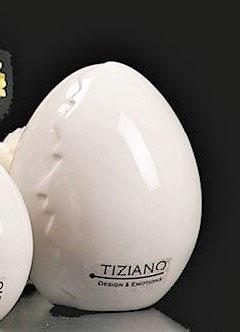 Tiziano Dekoei Camino 11 cm creme