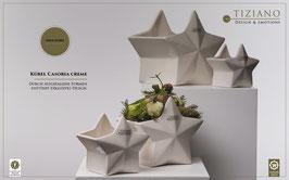 TIZIANO Kübel Casoria 15 cm creme