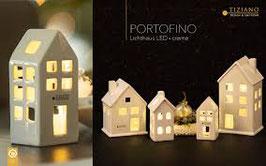 TIZIANO Lichthaus Portofino LED 14 cm creme