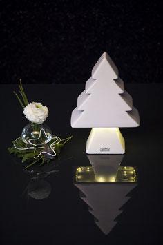 Tiziano Baum Diogo LED 27 cm creme