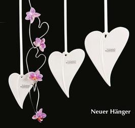 TIZIANO Hänger Herz Forina   14.0 cm   creme