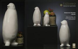TIZIANO Pinguin Pietro 21 cm  creme