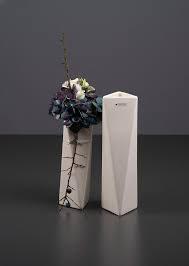 Tiziano Vase Stava 24 cm creme