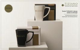 Tiziano Tasse 11,5 cm schwarz