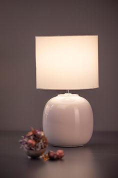 Tiziano Lampe Catalina creme/creme rund