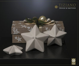 Tiziano Dekostern Casoria liegend 7,5 cm / 9 cm/ 10,5 cm creme