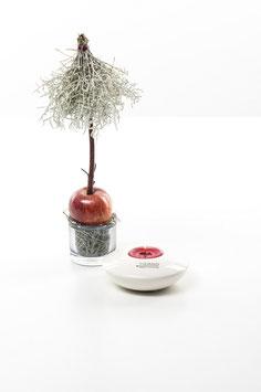 Tiziano Teelicht Sala Farbe: creme 11 cm