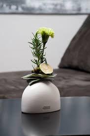 Vase Suni 14,5 cm breit creme Tiziano