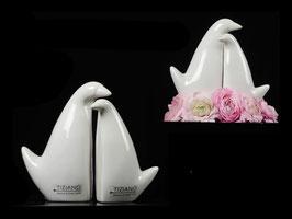 Vogelpaar Amara Tiziano-Keramik 21 cm