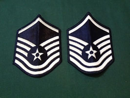 売切れ U.S AIRFORCE  Master Sergeant(曹長)階級章