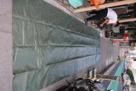 ODカラー テント フライ 防水 約6.5×7.4m 大型 ロープ20本付き 未使用