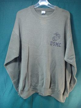 売切れ USMC 長袖トレーナー XL 中古品