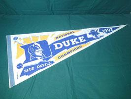1992 BLUE DEVILS NATIONAL DUKE CHAMPIONS タペストリー