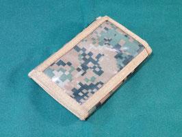 売切れ ODピクセル 三つ折 財布 パスケース