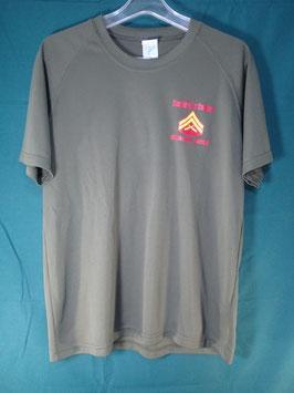 売切れ MARINE CAMP HANSEN 半袖プリントTシャツ
