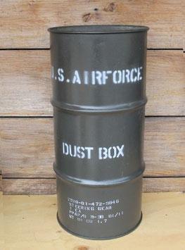 売切れ ステンシル入り ドラム缶 DUST BOX