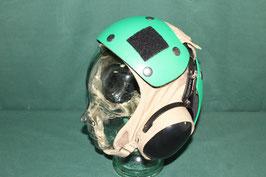 US NAVY デッキクルー ヘルメットセット グリーン 7 1/2  良品
