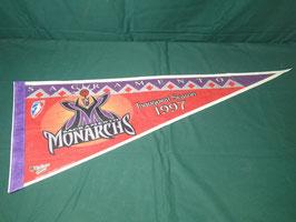 売切れ 1997 WNBA SACRAMENTO MONARCHS タペストリー中古