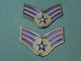 U.S AIRFORCE  Senior Airman (兵長) 階級章