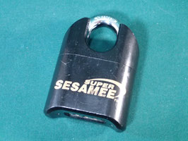 Super Sesamee lock  錠前 中古品