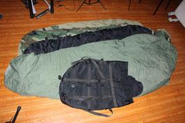 寝袋3点セット 夏用&冬用&ゴアテックスカバー