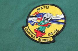 売切れ MAFB DROPPING BOMBS パッチ 良品