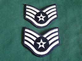U.S AIRFORCE  Staff Sergeant (二等軍曹)階級章