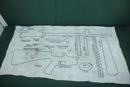 M16A4 分解パーツ図 クリーニング用