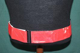 レッドカラー  反射ベルト 約64~128cm 未使用・新品