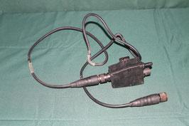 特殊部隊使用 PRC-148用 ユニバーサル PTTスイッチ 10ピン 中古