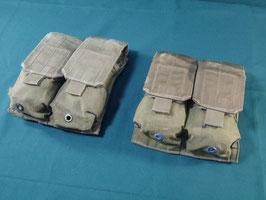 売切れ 米軍放出品 EAGLE MP2-M4 ダブルマガジンポーチ 二個セット