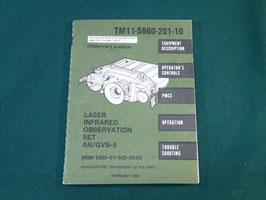 売切れ AN/GVS-5 オペレーションマニュアル