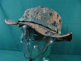 売切れ 米軍放出品 USMC ODピクセルカラーハット XL