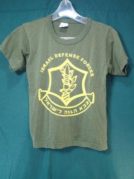 売切れ ISRAEL DEFENSE FORCES プリントTシャツ