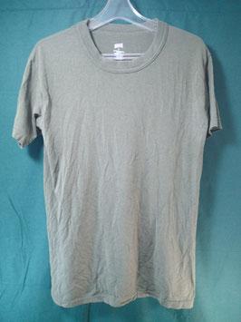 米軍放出品 無地 Tシャツ ODカラー S