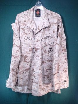売切れ 海兵隊使用 デザートピクセルジャケット 中古良品 M-L