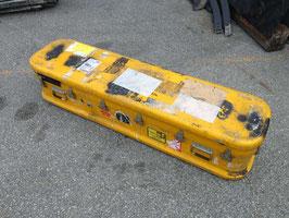 米軍放出品  イエローカラー アルミ製収納BOX