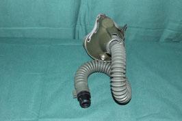売切れ MBU-5/P酸素マスク用ホース&マスク ハードシェル  ジャンク品