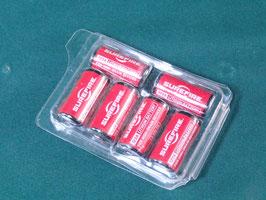 売切れ SUREFIRE リチウム電池 123A 6個セット  未使用品