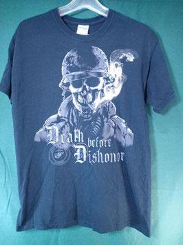 売切れ USMCプリントTシャツ M 中古良品