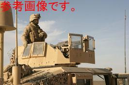 激レア ハンビー 車両用 タレット タンカラー 防護装甲  防弾ガラス付き 中古