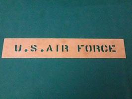 U.S.AIR FORCE ステンシルシート 小