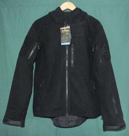 SPAVER TACTICAL TUNDRA ブラックカラー フード付き フリースジャケット S 新品