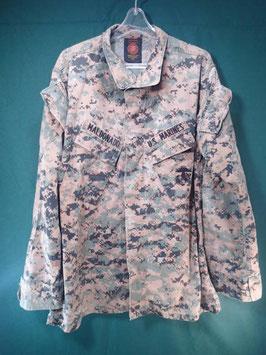 海兵隊 ODピクセル ジャケット M-R 中古
