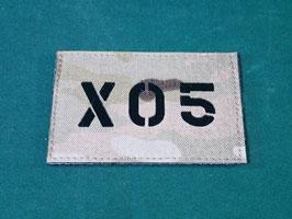 売切れ マルチカム IRコールサインパッチ X05