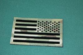 星条旗 IR リバースフラッグパッチ マルチカムカラー