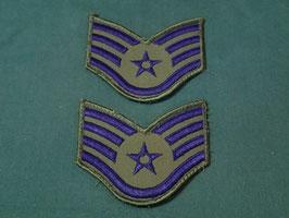 売切れ U.S AIRFORCE  Staff Sergeant (二等軍曹)階級章